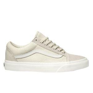 VANS woven check old skool sneakers
